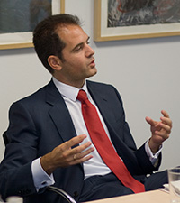 Portrait of Alberto Amo Mena