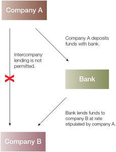 Diagram 3: Basic entrusted loan structure