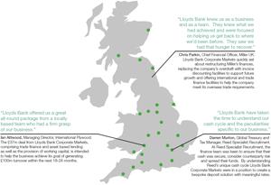 Diagram 1: Customer testimonials for Lloyds Bank