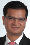 Portrait of Amit Sharma, Head of Southeast Asia Treasury Products, Cross Currency Product and Commercial Cards, Asia Pacific, Bank of America Merrill Lynch