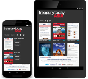 Treasury Today app on Android devices