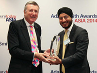 Adam Smith Awards Asia Top Treasury Team 2014