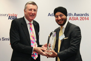 Top Treasury Team Asia, Winner – Harjeet Kohli, Group Treasurer and Head of Investor Relations.