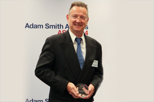 Best Cash Management Solution, Highly Commended – David Gaythorpe, adidas Group.