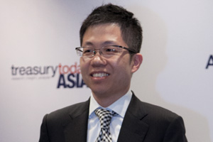 Best Liquidity Management/Short-Term Investing Solution, Highly Commended – Lawrence Chang, Honeywell (China).