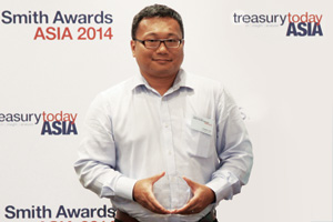 Best Foreign Exchange Solution, Highly Commended – Calvin Lee, LG Electronics.