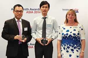 Best Process Re-engineering Solution, Highly Commended – Thomas Tan, Alere and Wee Yong Goh, RBS.