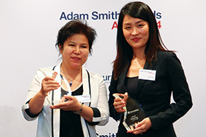 One to Watch, Winner – Zhu Dongmei, CNPC Group and Jolene Liu of Citi.