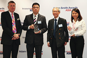 Best Solution in China, Winner – Dundee Zhang and Yap Say Chung, Bunge and Pang May May of J.P. Morgan.