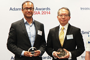 Best Solution in China, Highly Commended – Ying SiewSan, GE China and Suman Chaki of Deutsche Bank.
