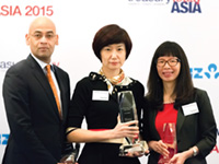 Adam Smith Awards Asia Top Treasury Team 2015