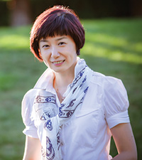 Portrait of Vivian Peng