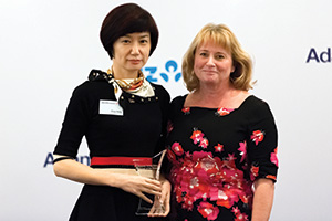 Treasury Today Asia Woman of the Year 2015, Winner – Vivian Peng, Flex Group