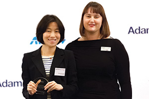 Judges' Choice, Highly Commended – Sung-Ah Sohn, J.P. Morgan collecting the award on behalf of eBay Korea