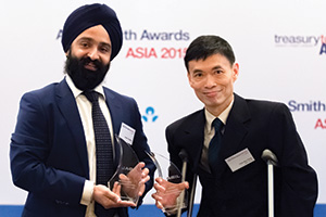 Best Liquidity Management Solution, Winner – Aman Chadha, Citi and Fam Han Feng, Jabil Circuit
