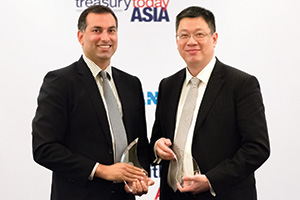 Best in Class Benchmarking, Winner – Raj Melvani, Thomson Reuters and Kenneth Ng, DFS Group