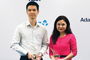 Harnessing the Power of Technology, Winner – Mak Kien Wei, Keysight Technologies Inc, Sally Soo, Citi