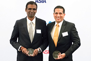 Harnessing the Power of Technology, Highly Commended – Saravanan Sokkalingam, IGATE, Jatin Aggarwal, J.P. Morgan