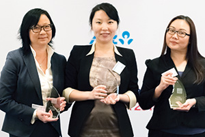 One to Watch, Winner – Angelique Tan, Bank of America Merrill Lynch, Ying Cao, General Motors and Pauline Wee, Deutsche Bank