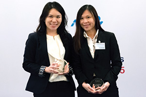 One to Watch, Highly Commended – Elsa Lai, Citi and Hui Yuen Yong, Kao Corporation