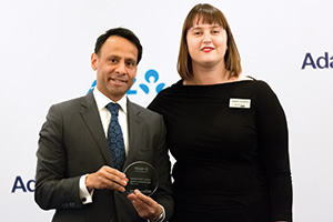 Best Solution in China, Highly Commended – Munir Nanji, Citi collecting the award on behalf of BASF