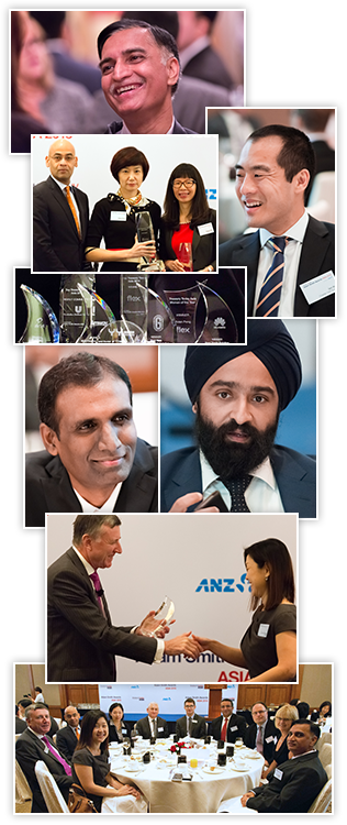 Montage from the 2014 Adam Smith Awards Asia event