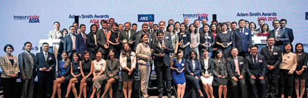 Treasury Today Asia's Adam Smith Awards Asia 2016 Winners