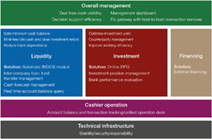 Treasury management intelligence (TMI) platform overview