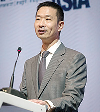 Portrait of Vincent Liu, Asia Treasurer, Managing Director