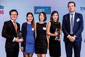 Top Treasury Team Asia 2016, Highly Commended Winner – Melvyn Low, Citi, Jewel Co Villanueva, Mabel Ee, Jelina Bargas and Nicolas Defauw, Procter & Gamble.