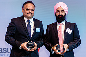 Judges' Choice, Highly Commended Winner – Nikhil Sohoni, Mahindra & Mahindra and Aman Singh Chadha, Citi.