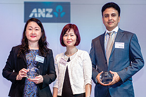 Best Cash Management Solution, Highly Commended Winner – Jennifer Leong and Jasline Chua, Cummins Asia Pacific and Vijay Shankar, ANZ.