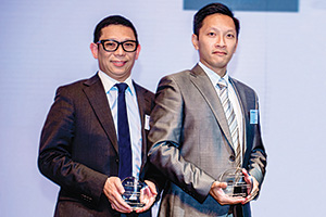 Best Cash Management Solution, Highly Commended Winner – Mario Ng, DBS and Ken Wong, Chinachem Group.