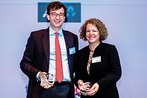 Best Liquidity Management Solution, Highly Commended – Oleg Williamson, Parker Hannifin and Deborah Mur, Citi.