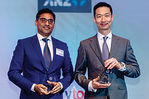 Best AR Solution, Overall Winner – Sachin Bafna, Citi and Vincent Liu, General Electric.