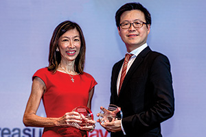 First Class Bank Relationship Management, Highly Commended Winner – Valerie Heng, Lenovo and Melvyn Low, Citi.