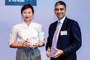 First Class Bank Relationship Management, Highly Commended Winner – Chalene Aw, Havas Creative Group and Deepan Dagur, ANZ.