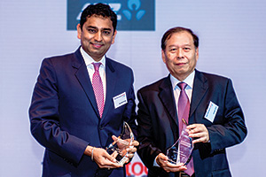 Best Trade Solution, Overall Winner – Saurabh Gupta, Citi and Joseph Chua, Lenovo.