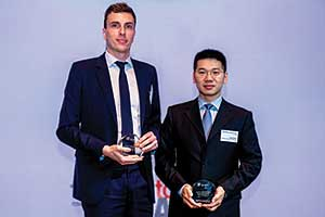 Best Trade Solution, Highly Commended Winner – Loic Senechal, BNP Paribas and Yang Peng, Shenzhen Kaifa Technology.