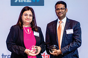 Best Financing Solution, Highly Commended Winner – Kamal Shanbag, Reliance Industries Limited and Prashant Pillai, J.P. Morgan.