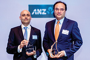 Best Foreign Exchange Solution, Overall Winner – Navin Chellaram, Cathay Pacific Airways Ltd and Auri, J.P. Morgan.