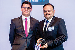 Best Risk Management Solution, Highly Commended Winner – James Hayward and Nikhil Sohoni, Mahindra & Mahindra.