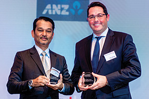 Best Risk Management Solution, Highly Commended Winner – Ravee Vasu, OSRAM and Eddy Henning, Deutsche Bank.