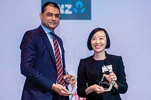 Best in Class Benchmarking, Overall Winner – Rohit Jamwal, Citi and Fina Ching, Mars Foods Inc.