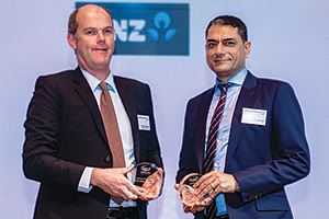 Best in Class Benchmarking, Highly Commended Winner – Brendon Connelly, Fonterra Co-operative Group and Rohit Jamwal, Citi.
