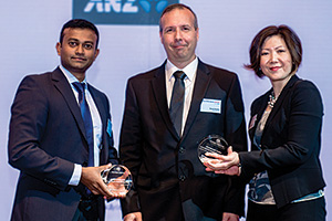 Harnessing the Power of Technology, Highly Commended – Sharath Gopinath and David Davies, Bacardi Limited and Christine (Jang) Tan, J.P. Morgan.