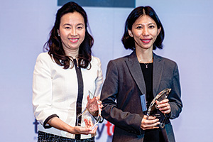 One to Watch, Overall Winner – Cynthia Koh, Citi and Hooi San Tan, Intel Corporation.