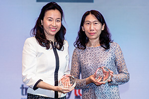 One to Watch, Highly Commended – Cynthia Koh, Citi and Miao Chiu, Nan Shan Life Insurance.