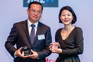 Best Solution in China, Highly Commended Winner – Matthew Xu, Pfizer and Lillian Sim, J.P. Morgan.