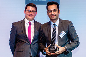 Best Solution in China, Highly Commended Winner – James Hayward and Ashish Bhardwaj, Microsoft.